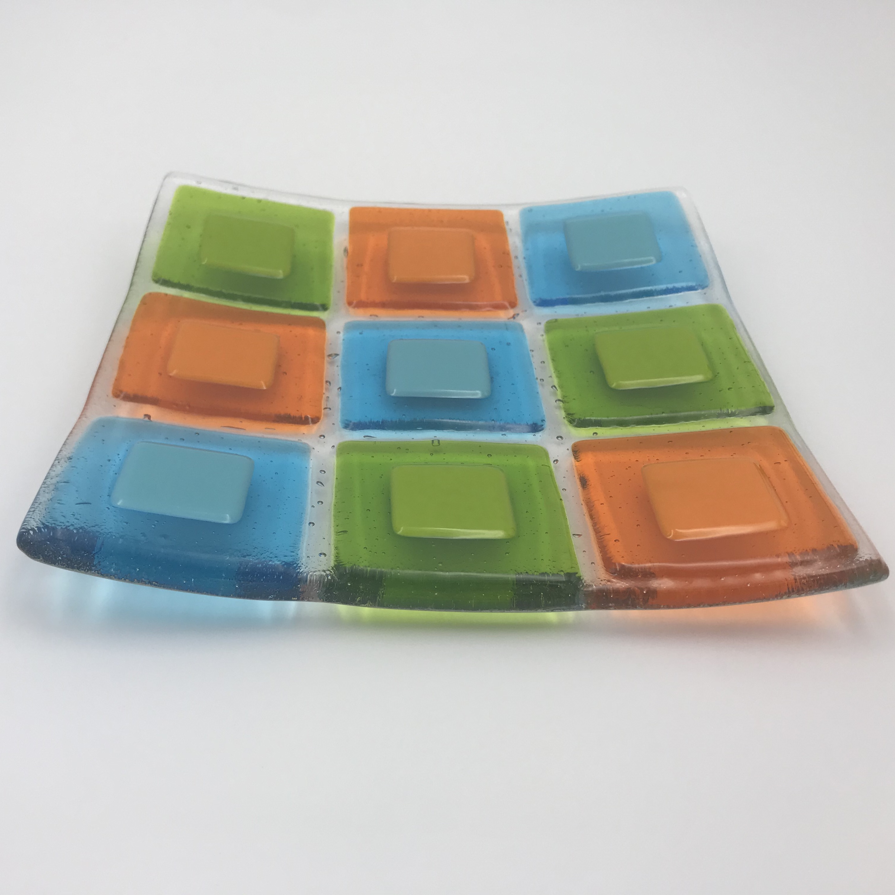 Basics I: Sat. June 26th 9am-1pm — Glass Fusing Basics 1 – Get Started with Tack Fusing!